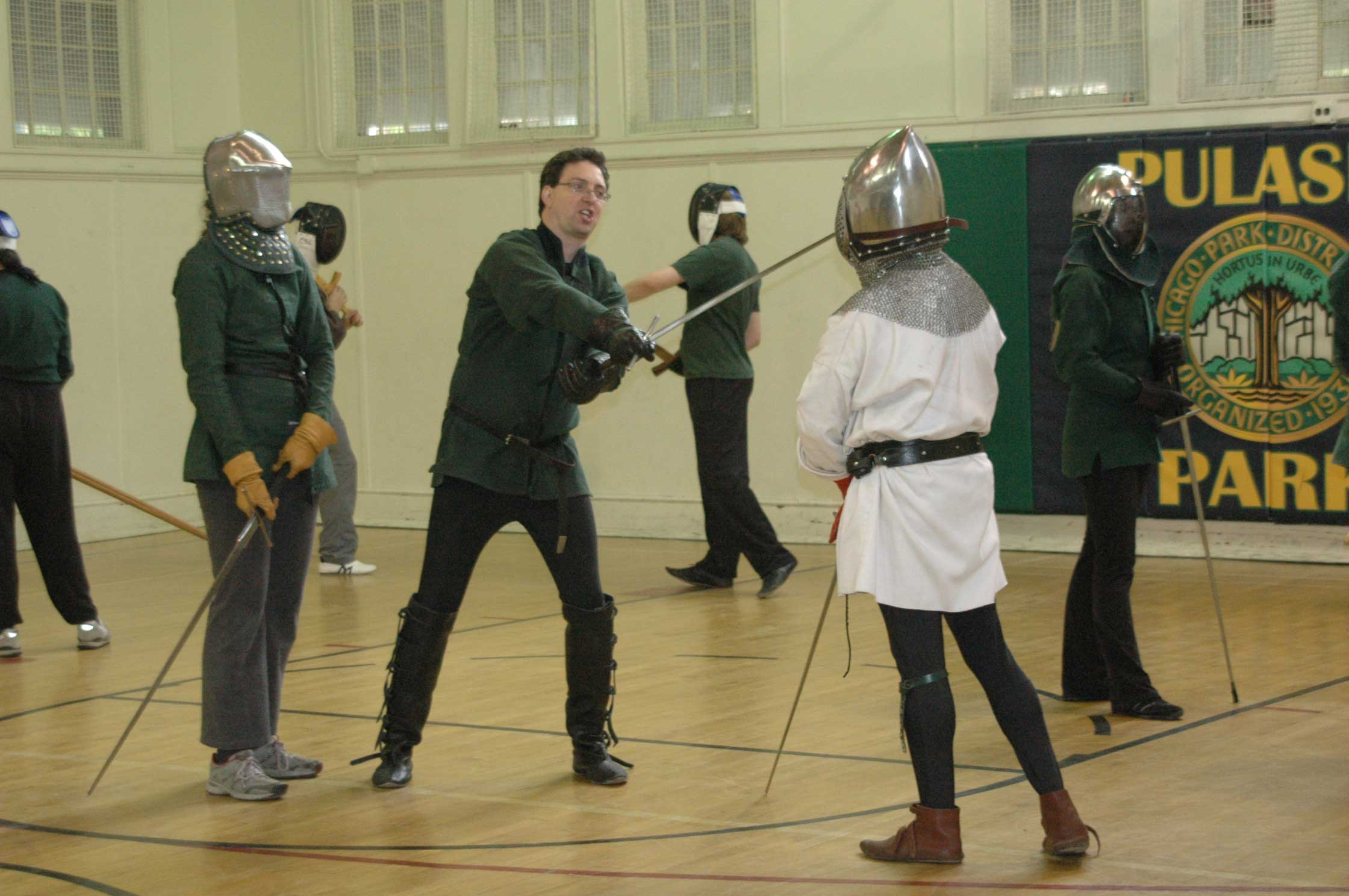 Sword Fighting 101 – PCC Courier