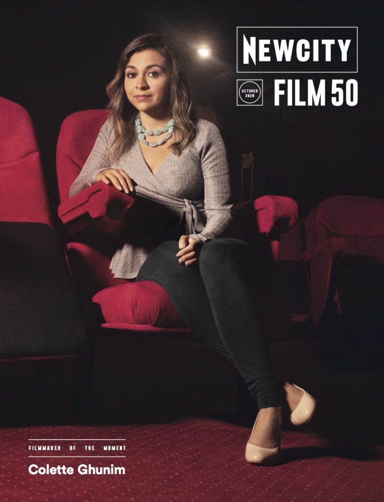 Newcity October 2020 Cover – Featuring Colette Ghunim and the Film 50